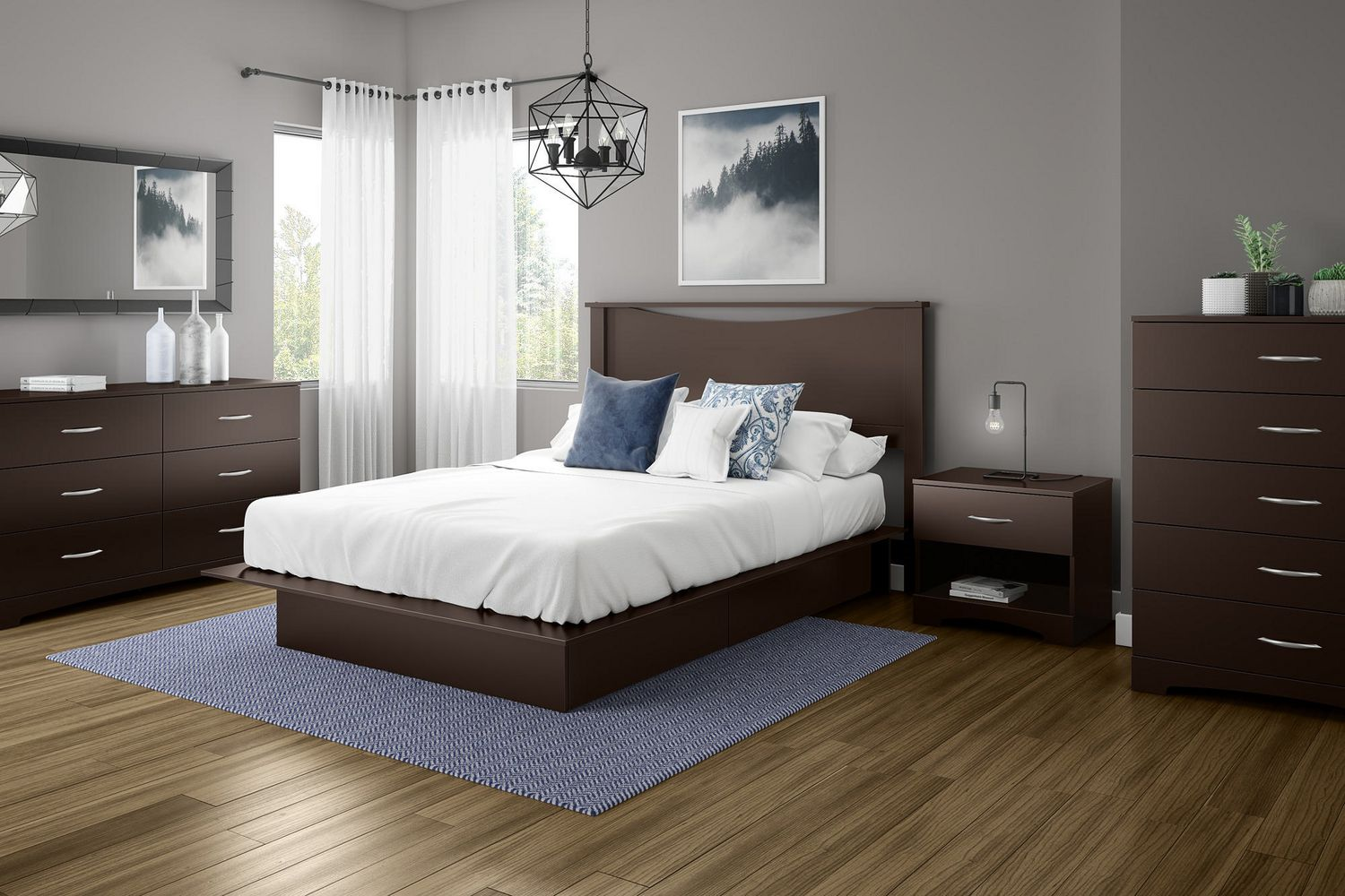 Perfect South Shore Soho Collection Storage Queen Platform Bed | Walmart Canada