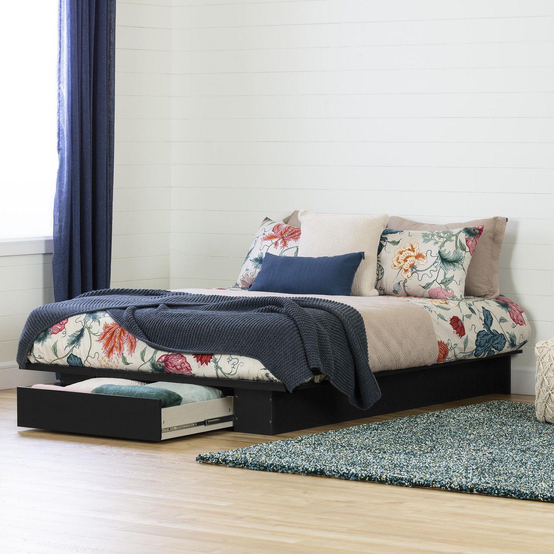 south shore holland collection fullqueen platform bed with drawer  - south shore holland collection fullqueen platform bed with drawer walmartca