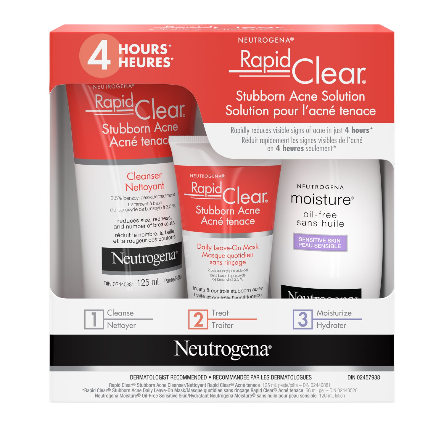 Neutrogena Acne Treatment Kit 3 Products Walmart Canada