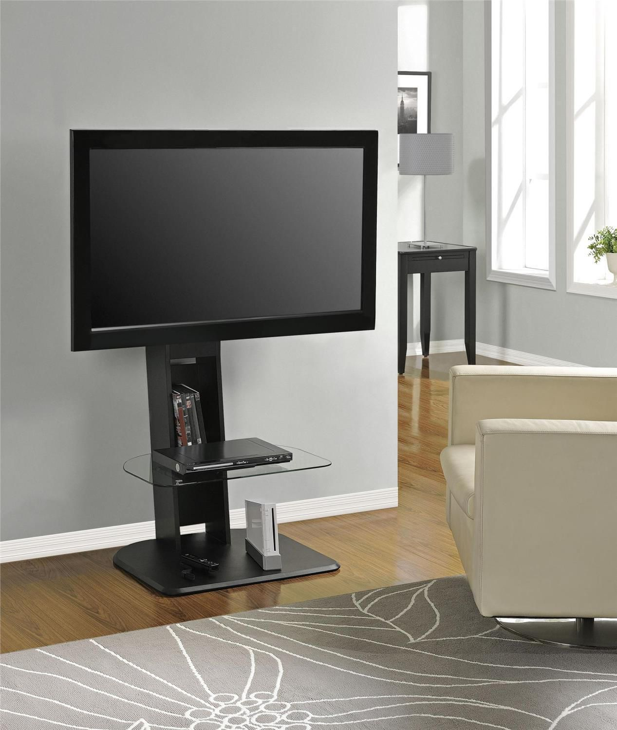dorel home galaxy tv stand with mount  walmartca -