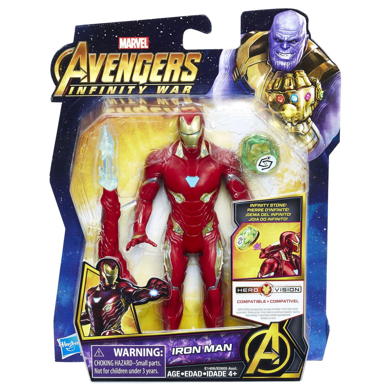 "Marvel Legends Iron Man Avengers Infinity War 6/"" Scale Action Figure Hasbro"
