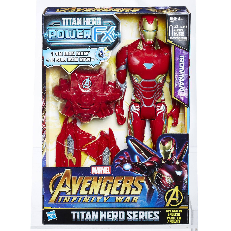 Marvel Infinity War Titan HERO Power FX Iron Man | Walmart Canada