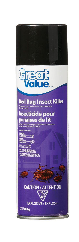 Insecticide Pour Punaises De Lit Great Value Walmart Canada