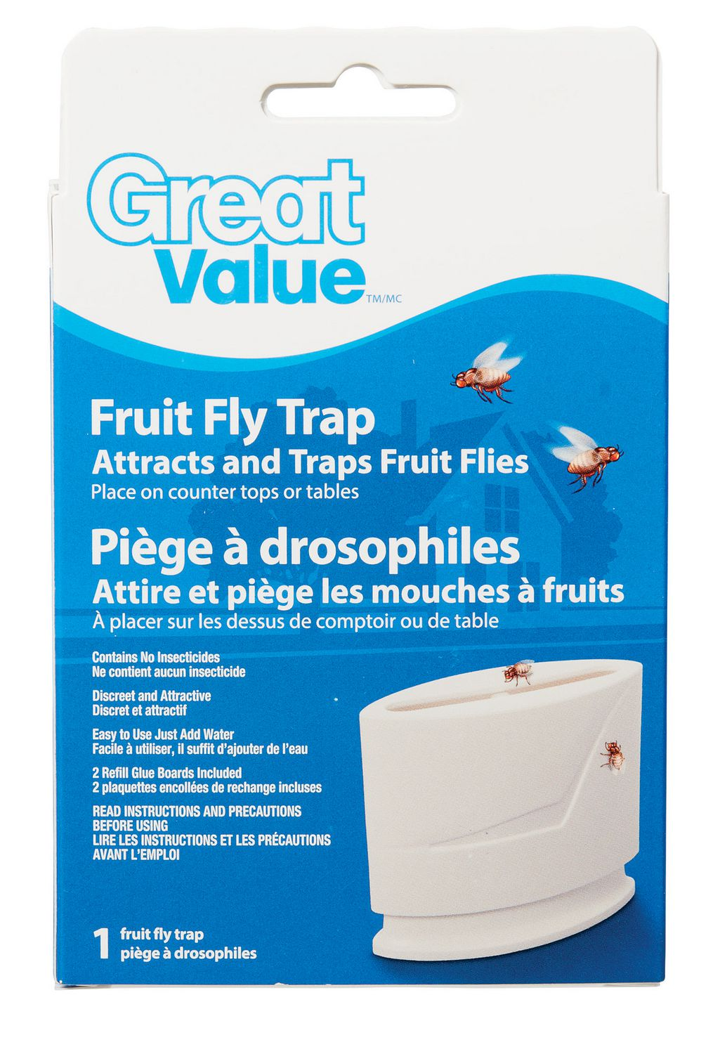 Great Value Fruit Fly Trap