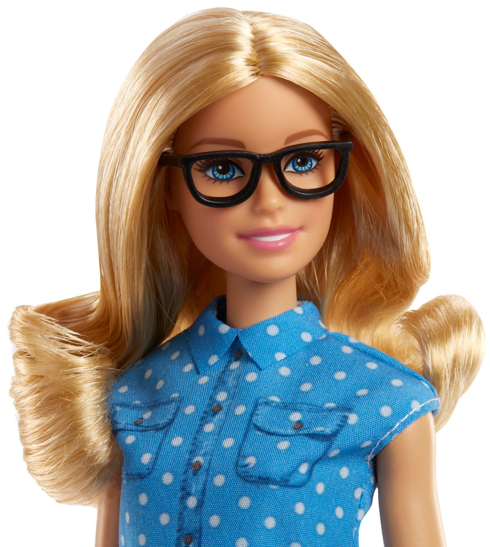NEW Barbie Careers School Teacher Doll Blue /& White Dot Top Shirt ~ Clothing