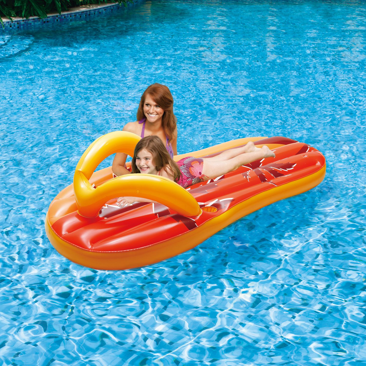Blue Wave Tropical Flip Flop 71 in Inflatable Pool Float