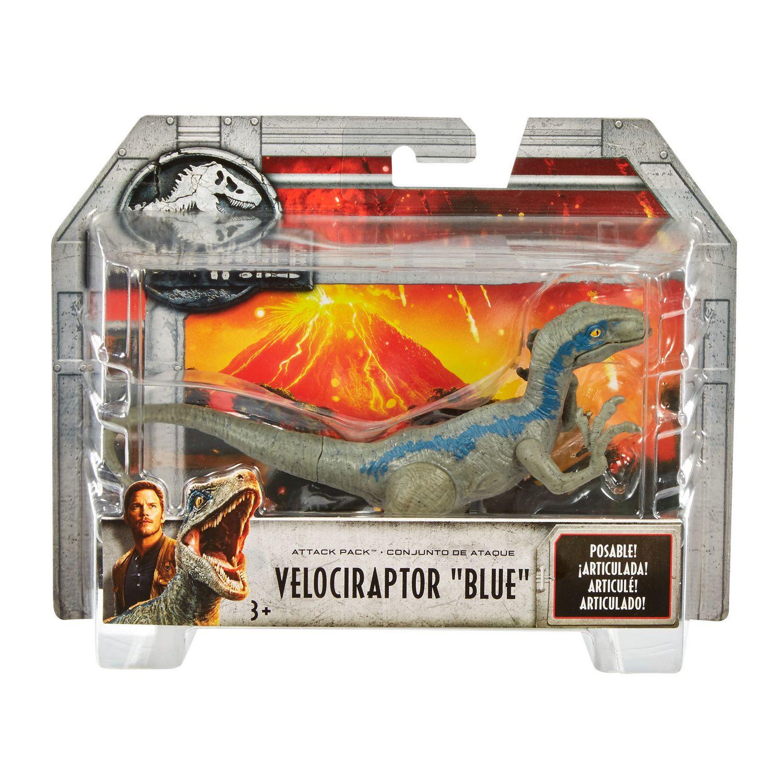 "Jurassic World 3 Pack Mini Action Dinos /""Exclusive Velociraptor/"""