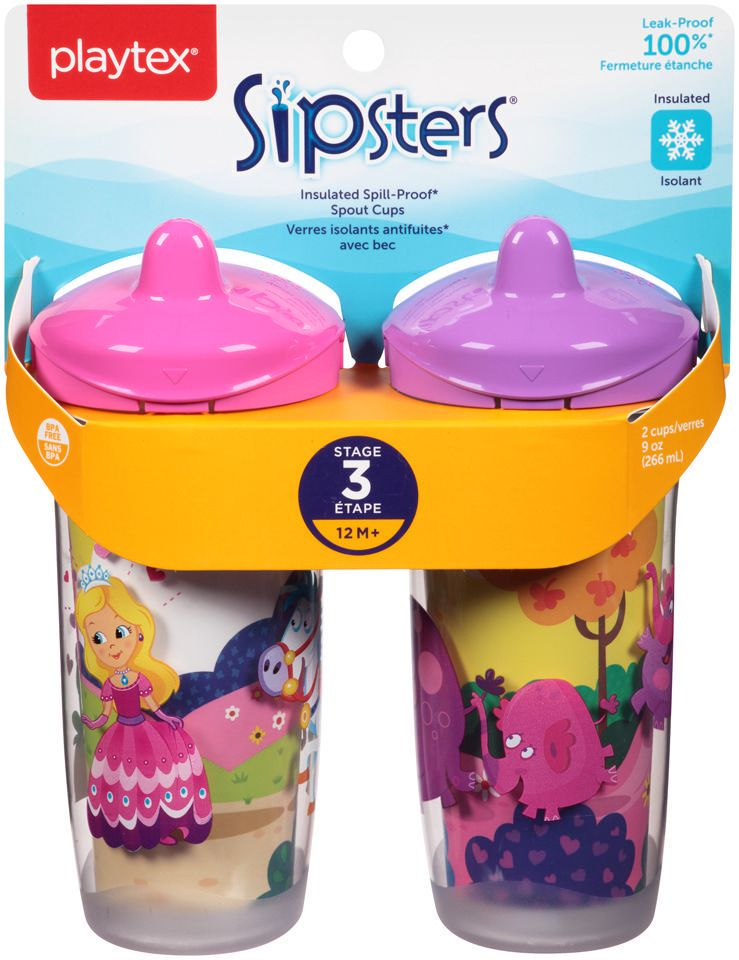 Playtex Baby Sipsters Silicone Valves for Cups Compatible with all Playtex Sipsters Cups