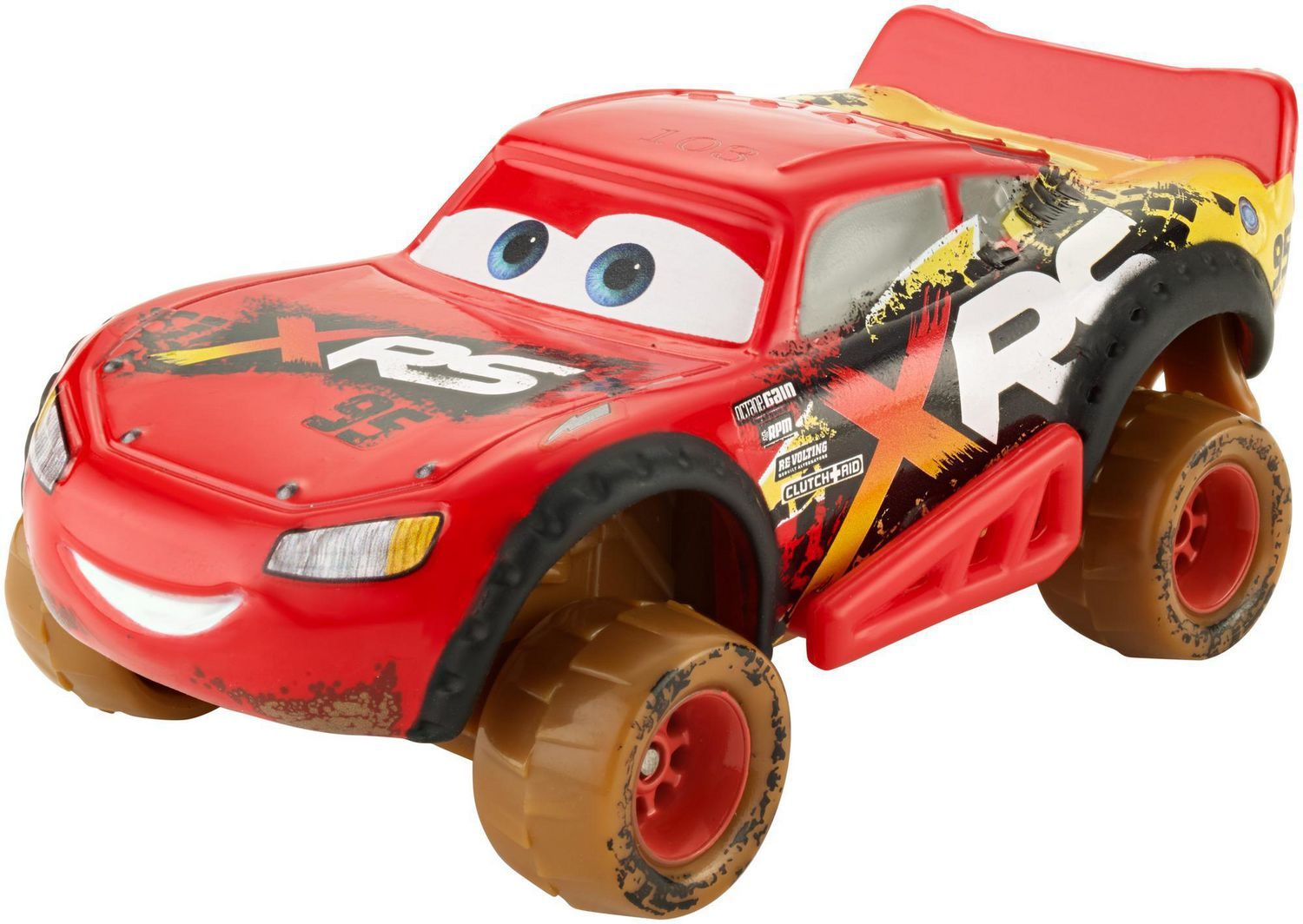 Mattel Disney Cars Mud Racing Diecast Jackson Storm SALE!!!!