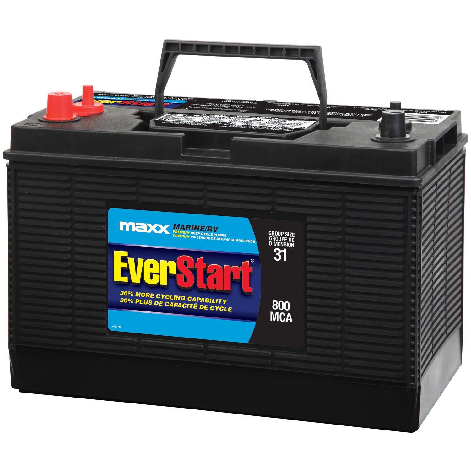 Everstart Marine Rv Battery Premium Deep Cycle Power Maxx