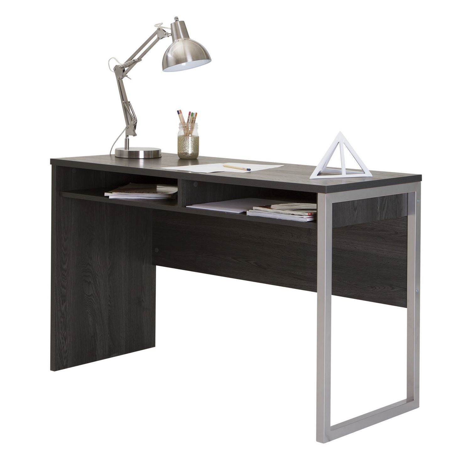 products pro gray board double biz privacy desk writing tack in collections with white modern desks bestar panel