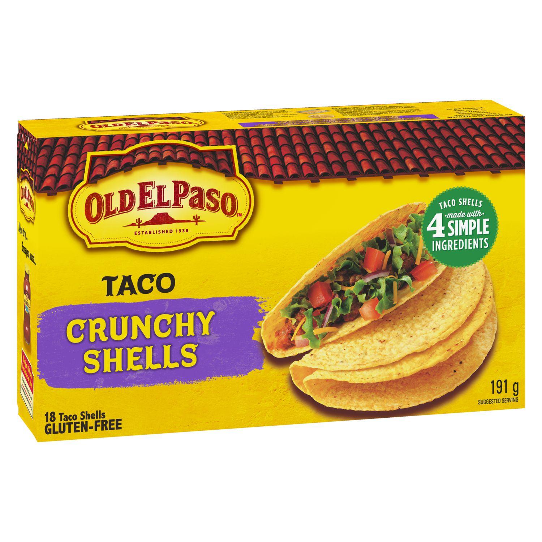 Old El Paso Gluten Free Taco Crunchy Shells | Walmart Canada
