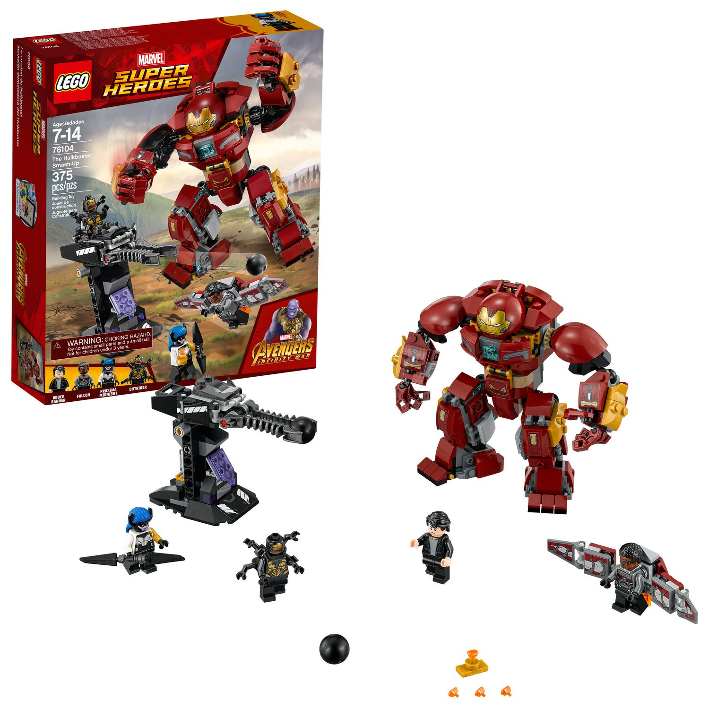 Lego Infinity Hulkbuster76104 Heroes Wars Du Avengers Le Combat Super WIY2EDH9