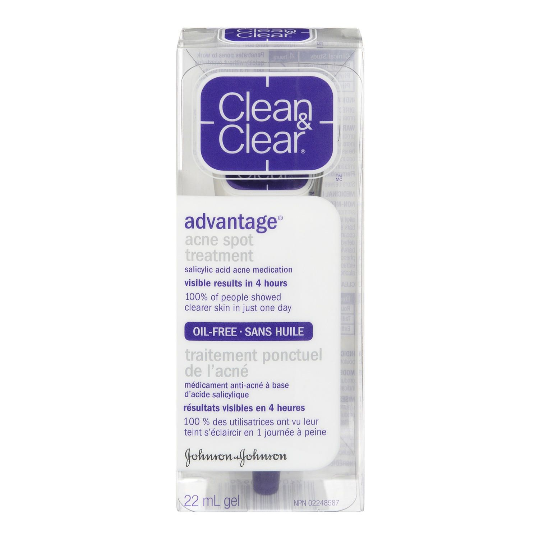 CLEAN   CLEAR® ADVANTAGE® Oil Free Acne Spot Treatment, 22 ml   Walmart  Canada 559f010e150