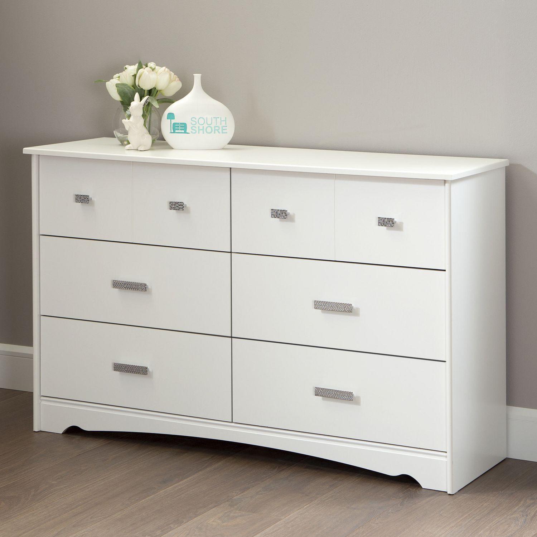 south shore tiara drawer double dresser  walmartca -