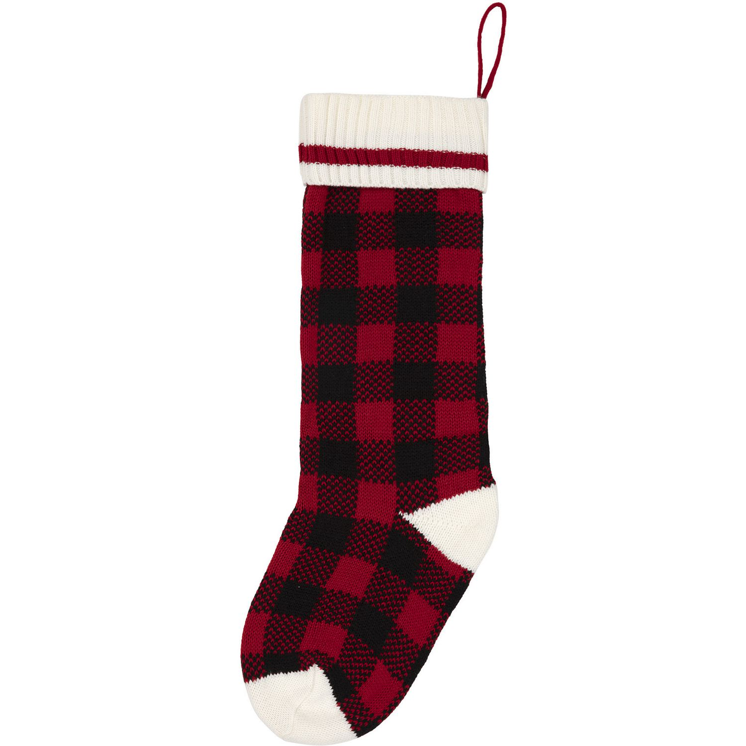Canadiana Christmas Stocking Buffalo Plaid Walmart Canada