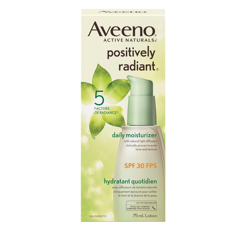 aveeno daily moisturizing lotion on face