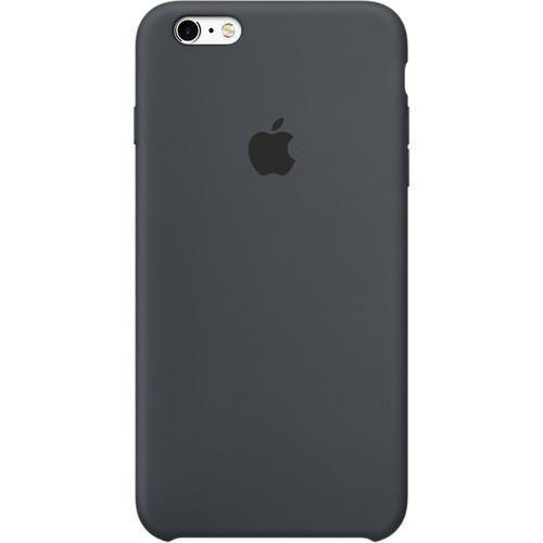 Coque en Silicone Apple iPhone 6 / 6s (Gris Charbon)