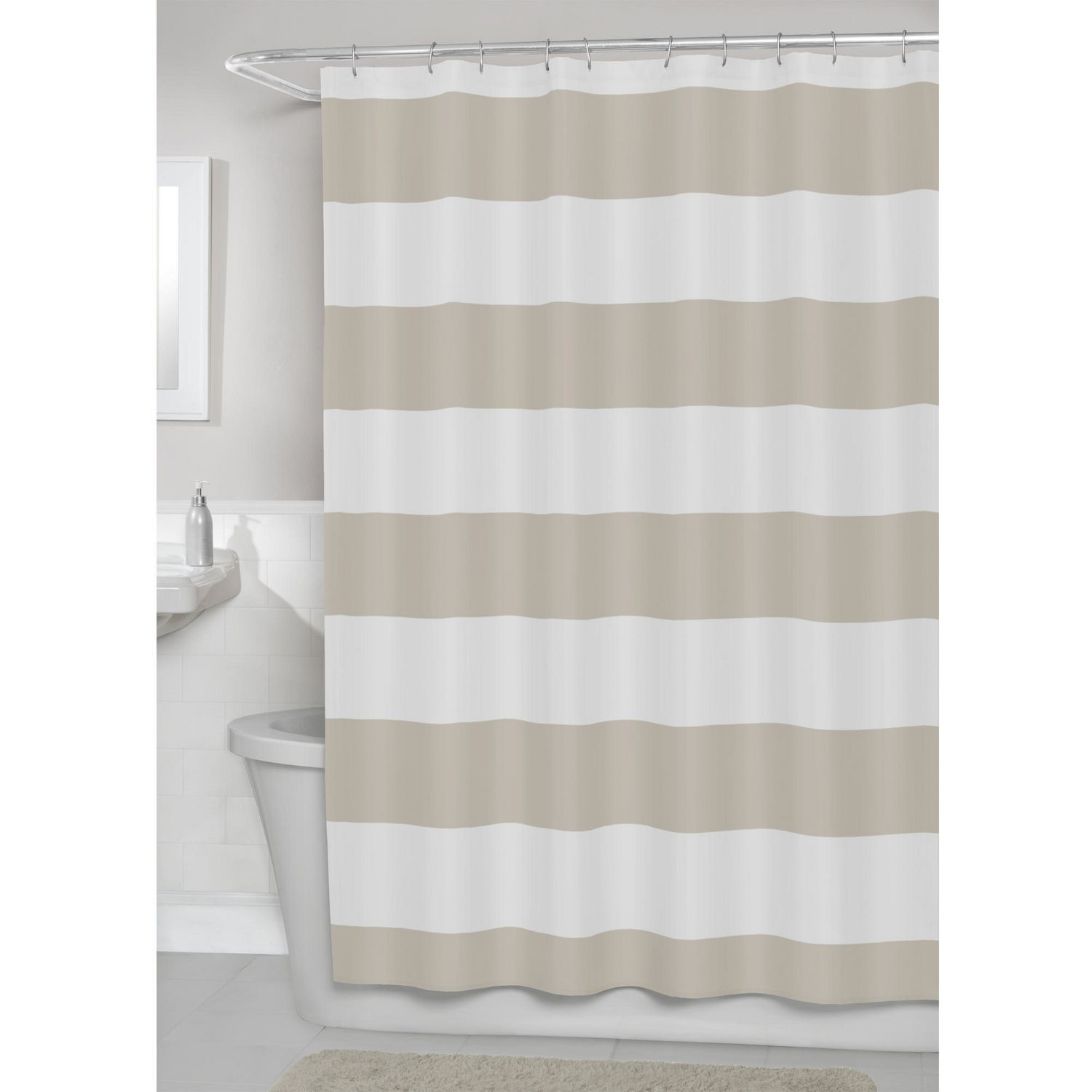 tan and gray shower curtain. tan and gray shower curtain