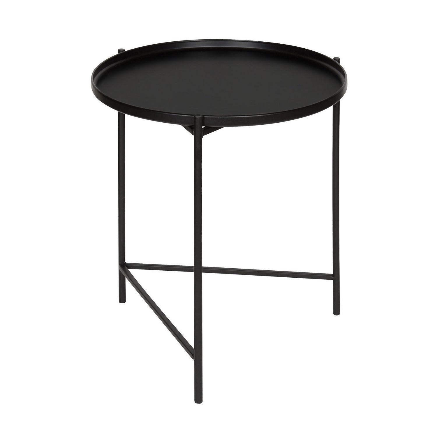 - Hometrends Black Metal Side Table Walmart Canada