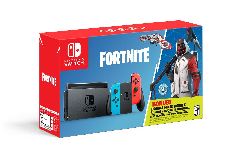 Nintendo Switch Fortnite Double Helix Bundle Nintendo Switch