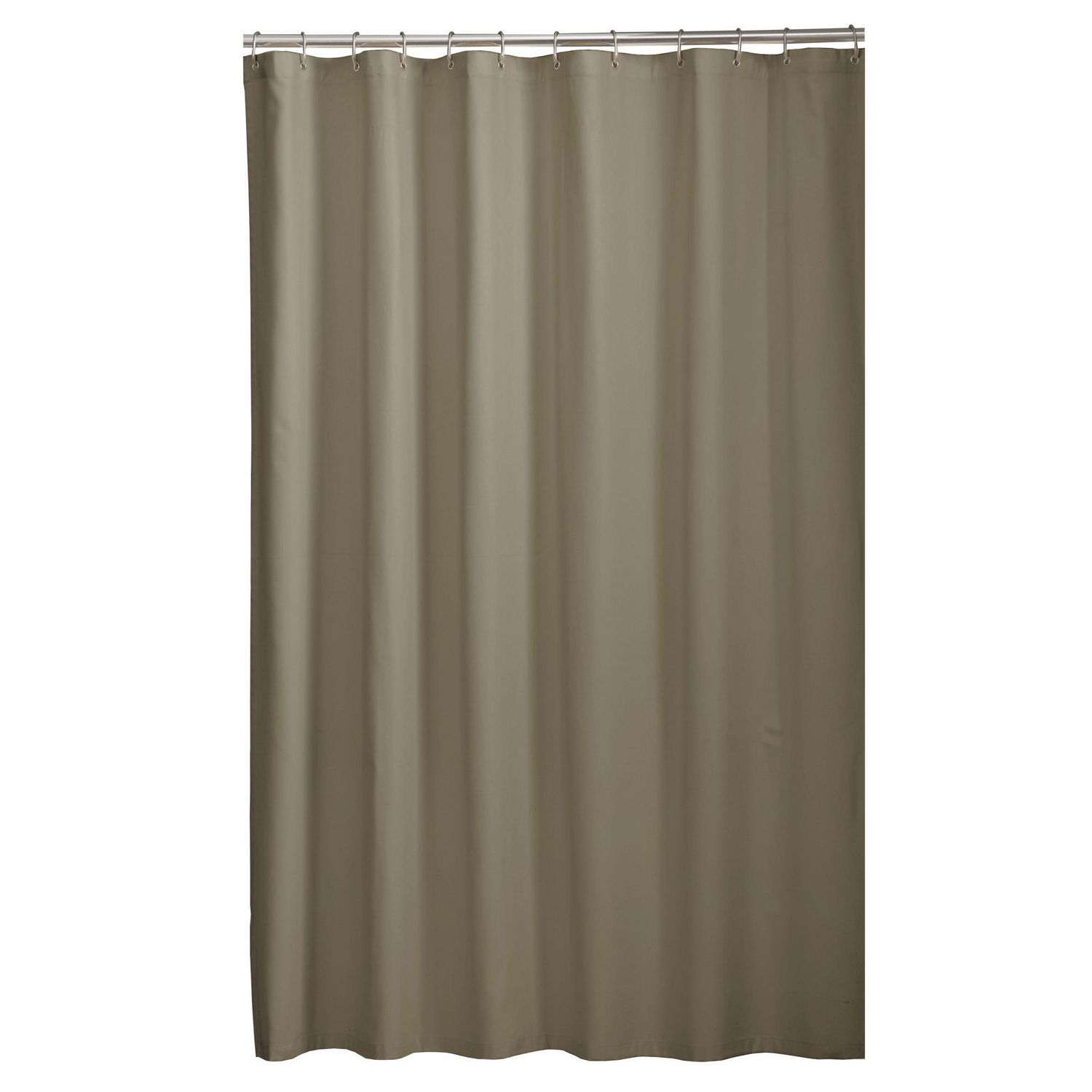 Mainstays Microfiber Fabric Shower Curtain Liner