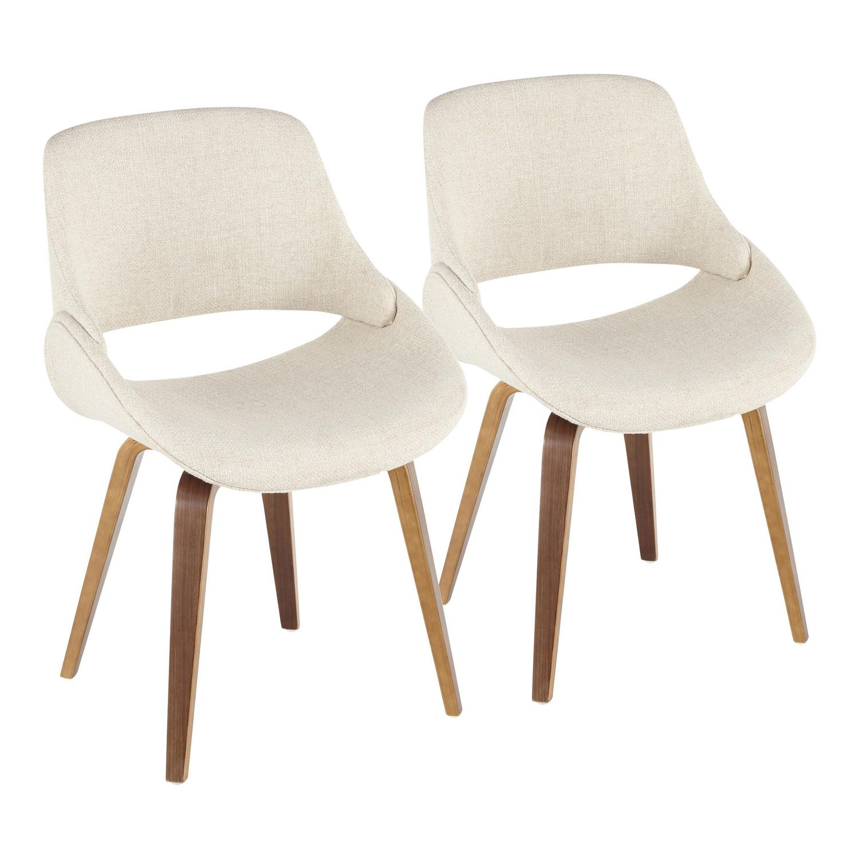 Fabrico Mid Century Modern Chair By Lumisource Walmart