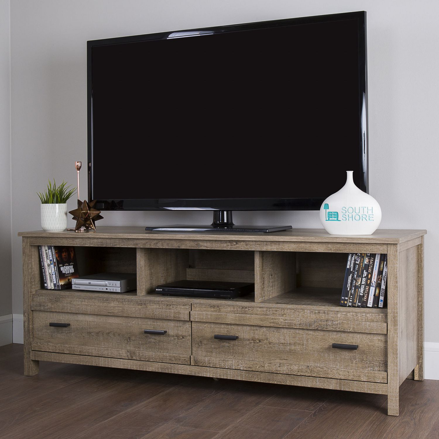 South Shore Exhibit Tv Stand For Tv S Up To 60 Inches Walmart Canada
