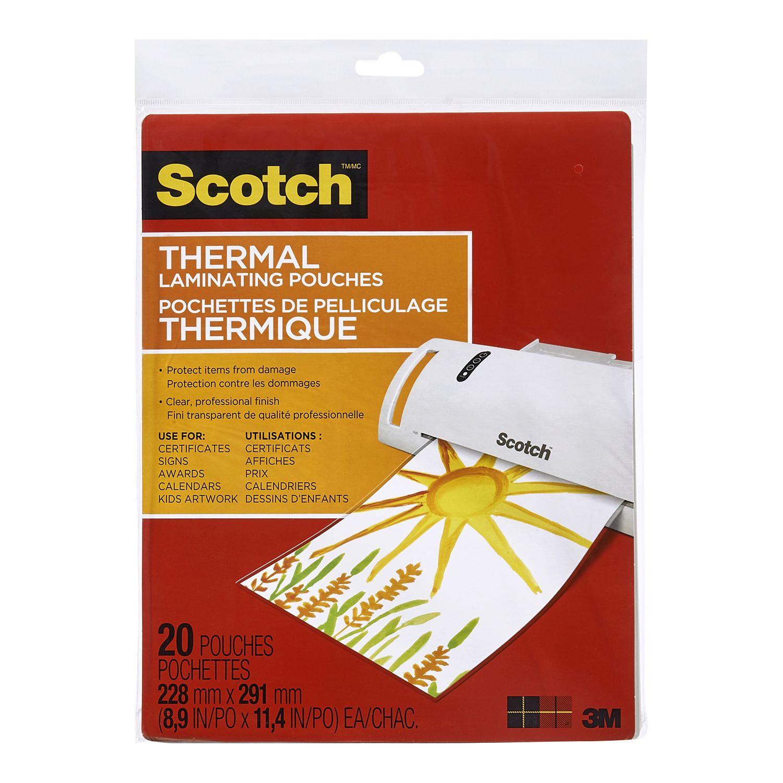 pochettes de pelliculage thermique de scotchmc de 3 mm. Black Bedroom Furniture Sets. Home Design Ideas