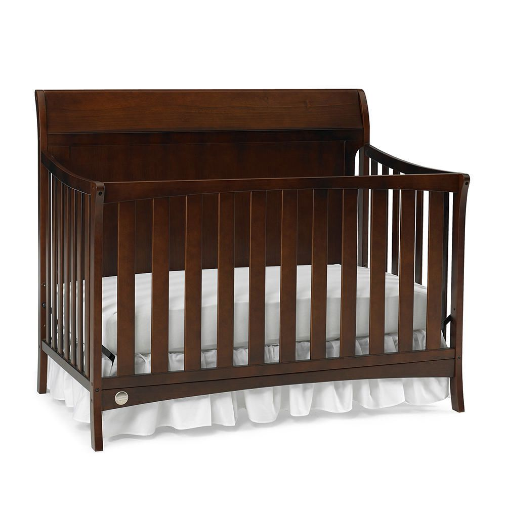 kalani crib in toddler with price convertible one side the rail grow davinci fisher