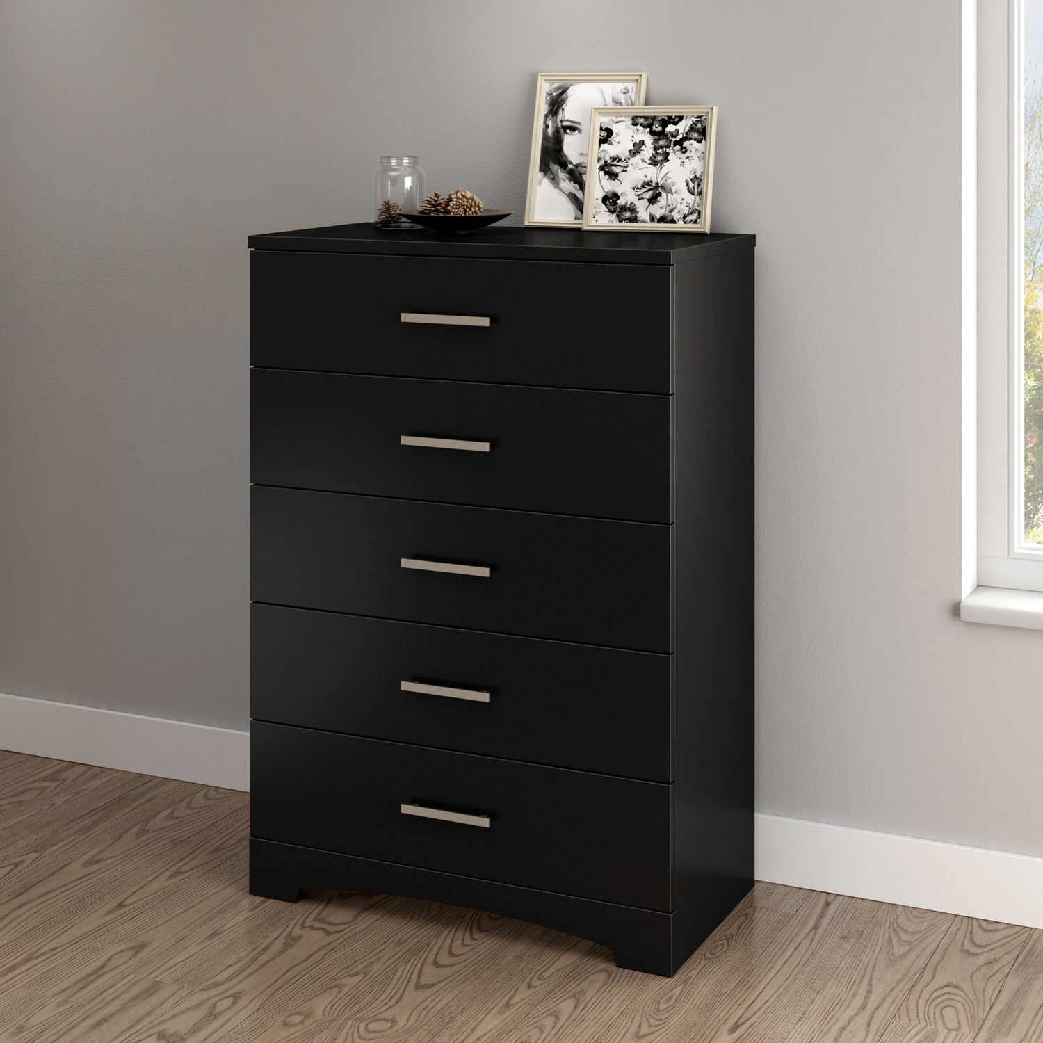 commode noire pas cher good commode barra cromo en bois. Black Bedroom Furniture Sets. Home Design Ideas