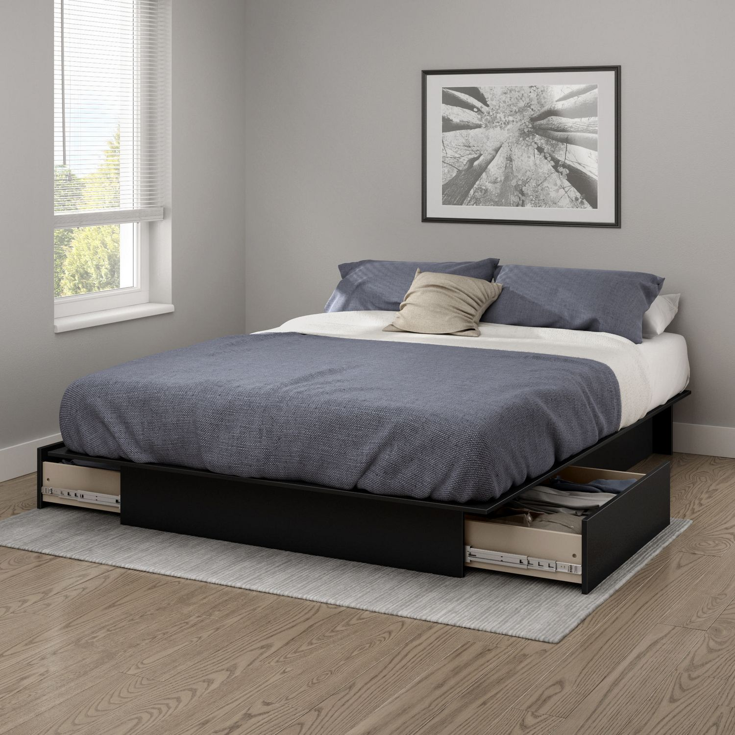 nicole platform beautiful with frehsee of drawers beds home bed rustic image queen