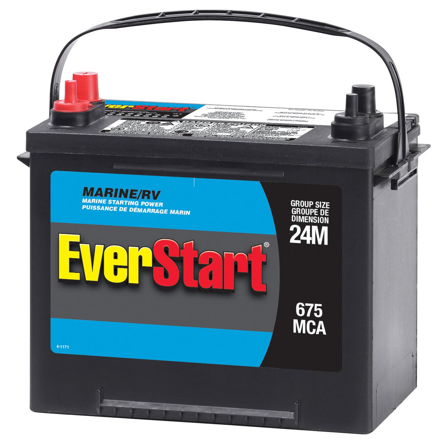 Everstart Marine Battery Starting Power Walmart Canada