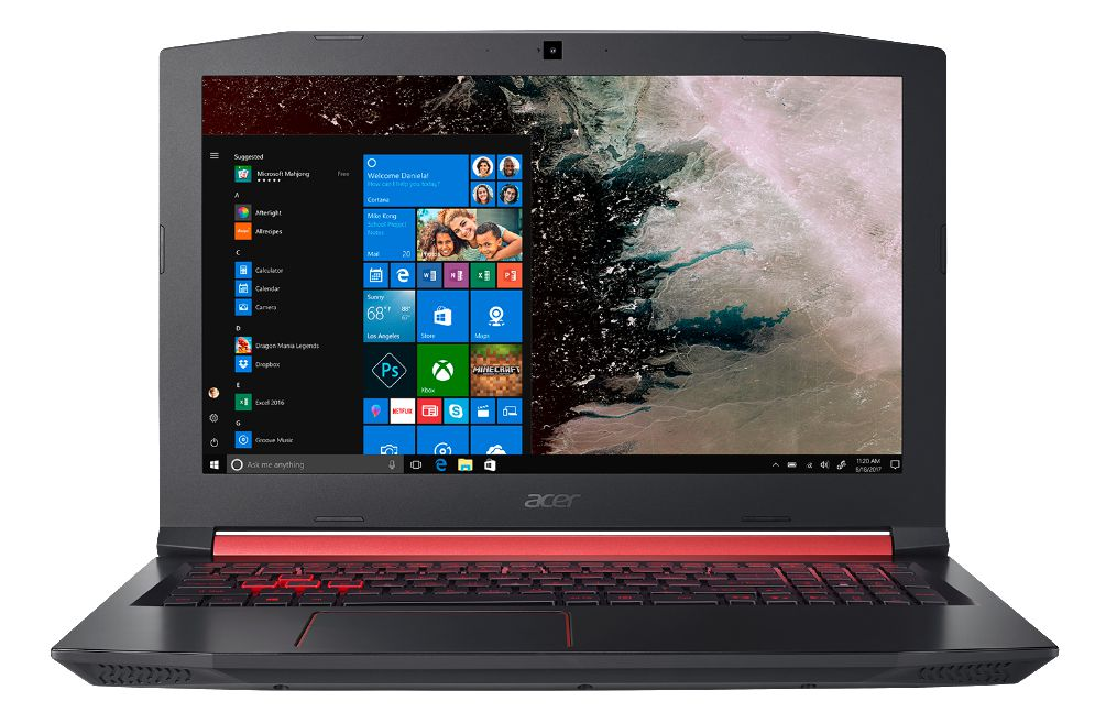 Acer 15 6 Nitro 5 Gaming Laptop Intel Core I5 8300h An515 53 592t Walmart Canada