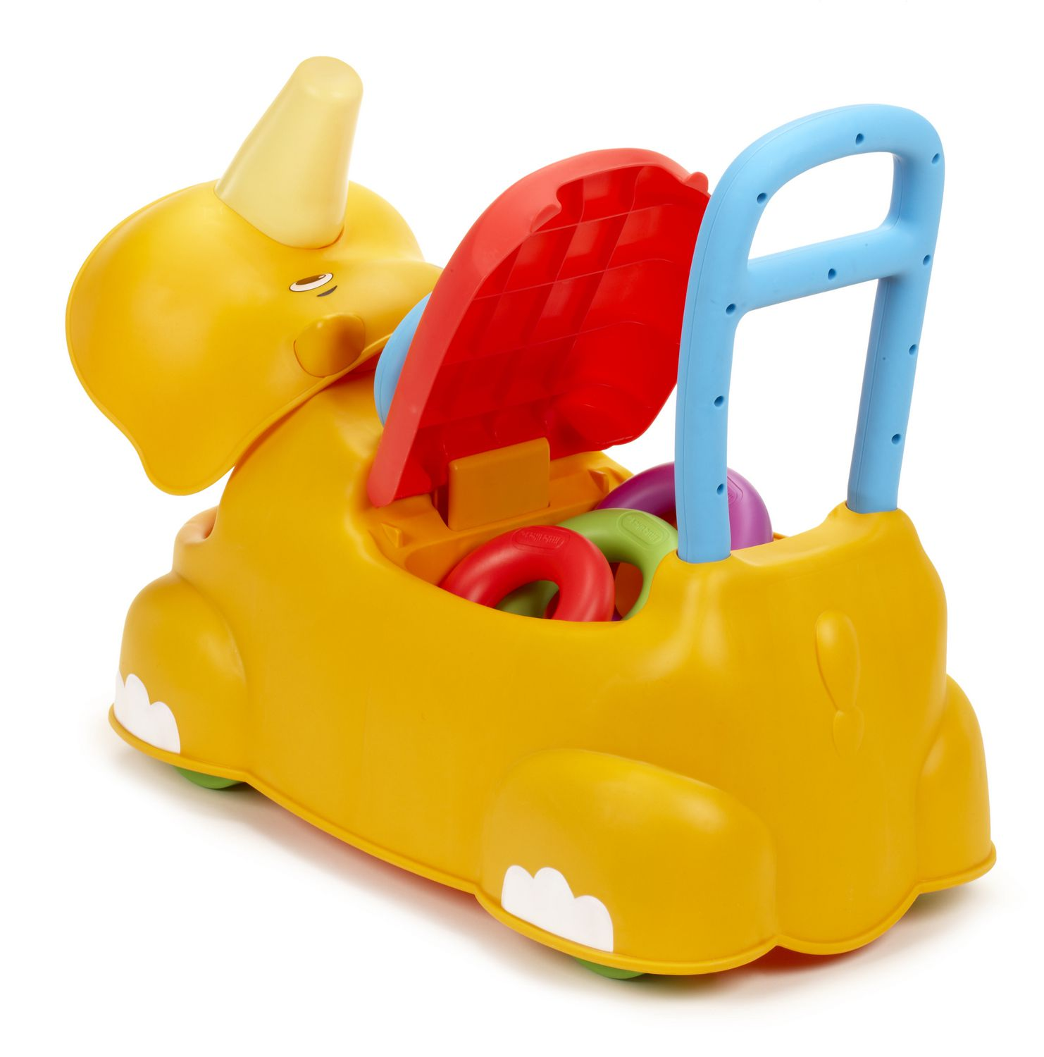 Little Tikes Scoot Around Animal Riding Toy Rhino