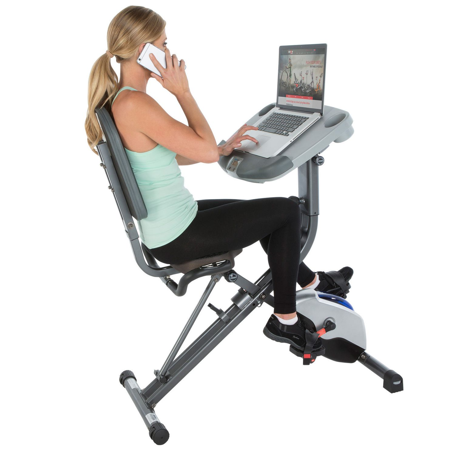 back loctek office bicycle ergonomic bikes desk category magnetic bike exercise fitness for recumbent product rest with under