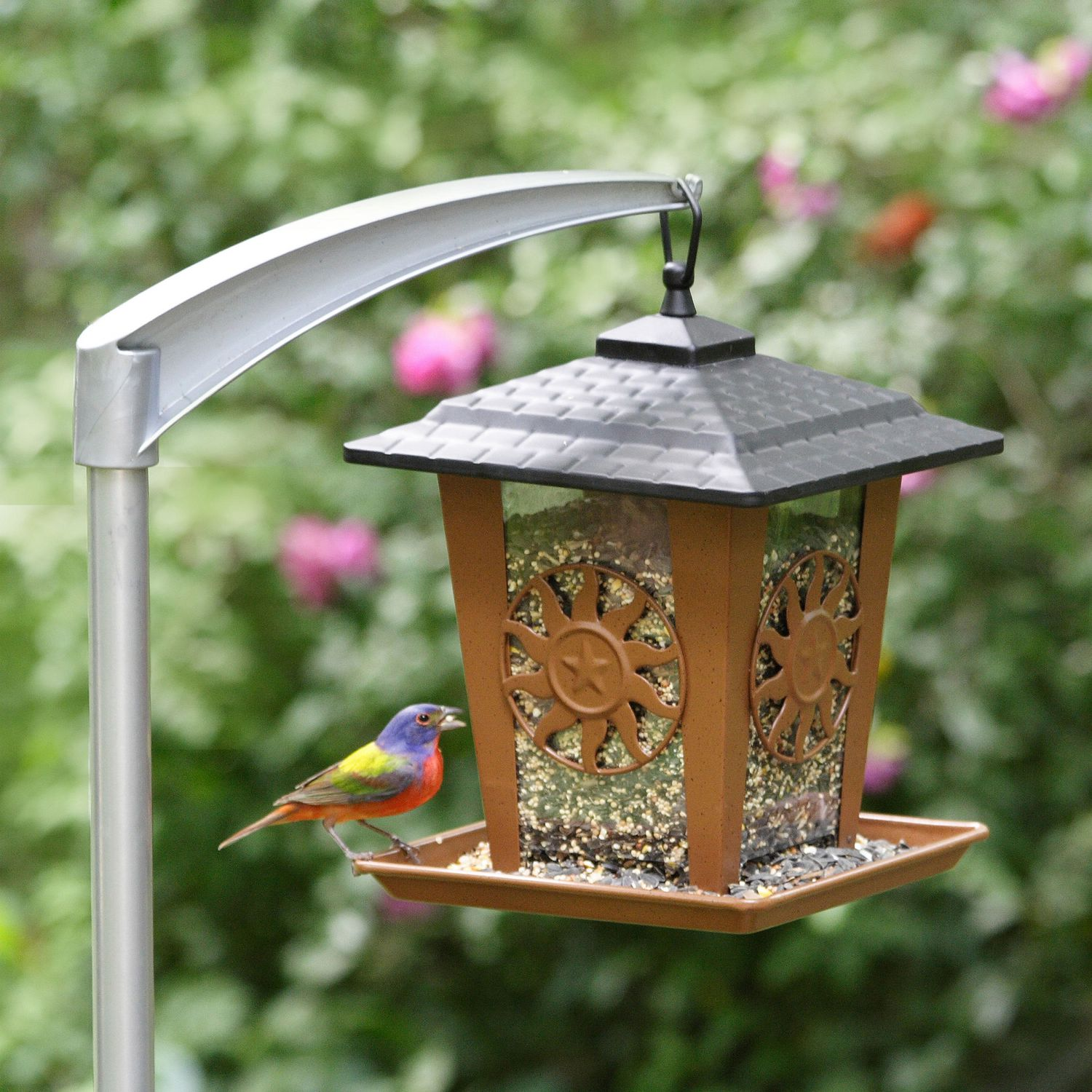 jagunda feeder drollyankees mounted jg droll squirrel gd pole proof bird yankees sq product