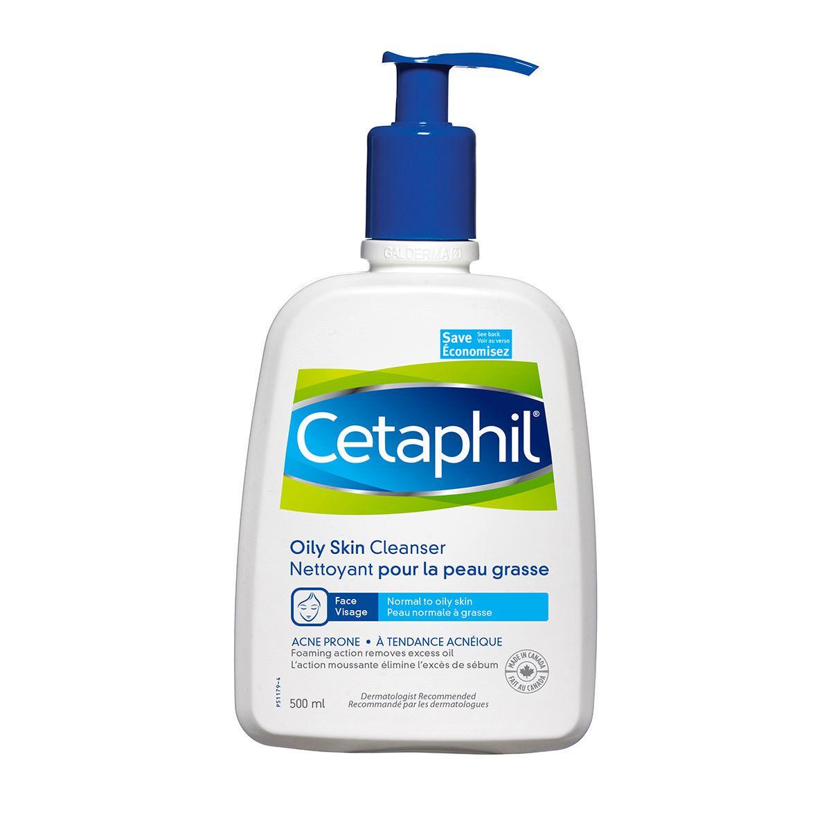 cetaphil for oily skin