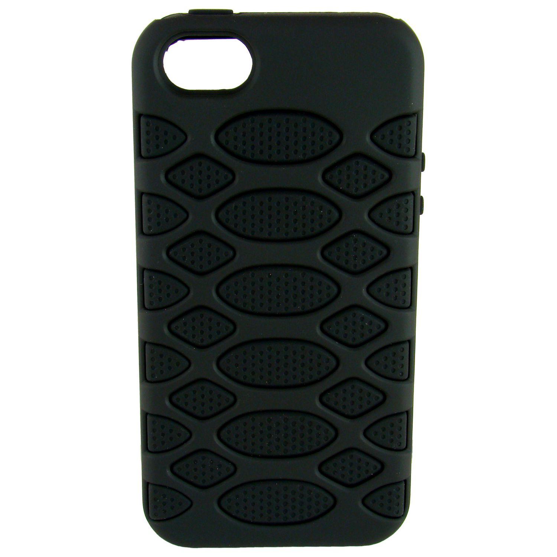 Coque telephone pour iPhone 5/5S Noir/Noir