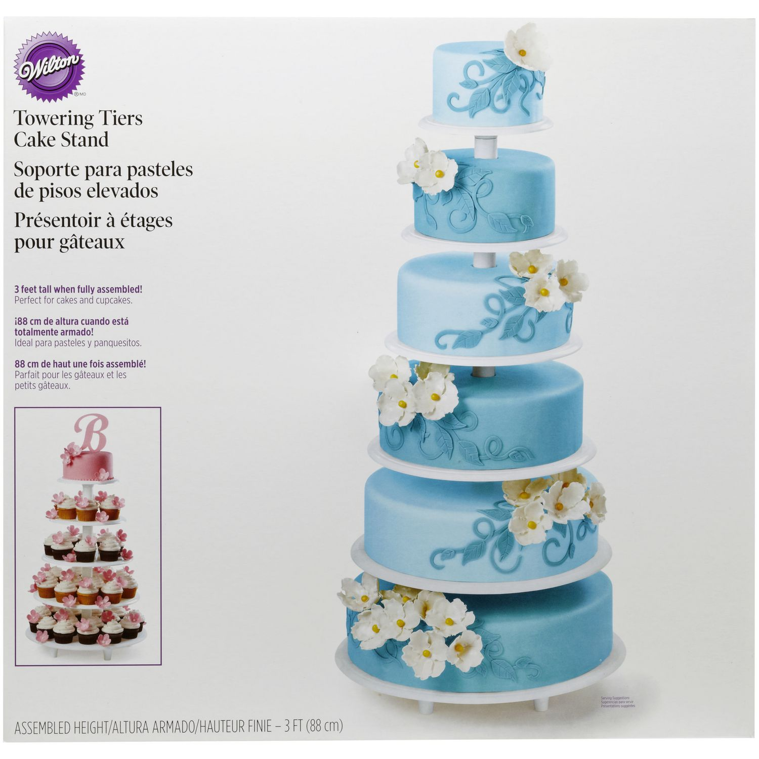Wilton Towering Tiers Cake Stand | Walmart Canada