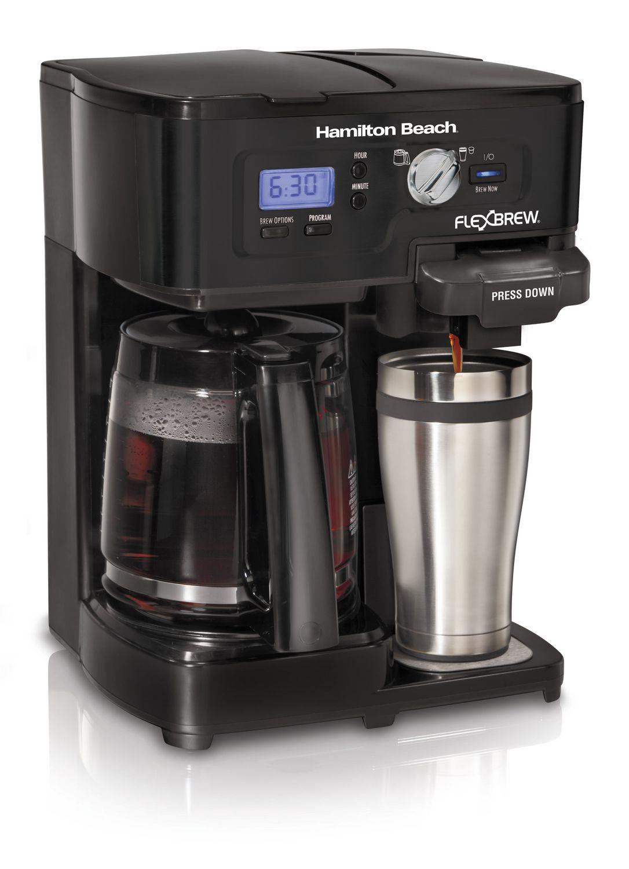 Electronic Where To Buy Coffee Machine buy coffee makers online walmart canada hamilton beach 12 cup 2 way flexbrew maker 49985c