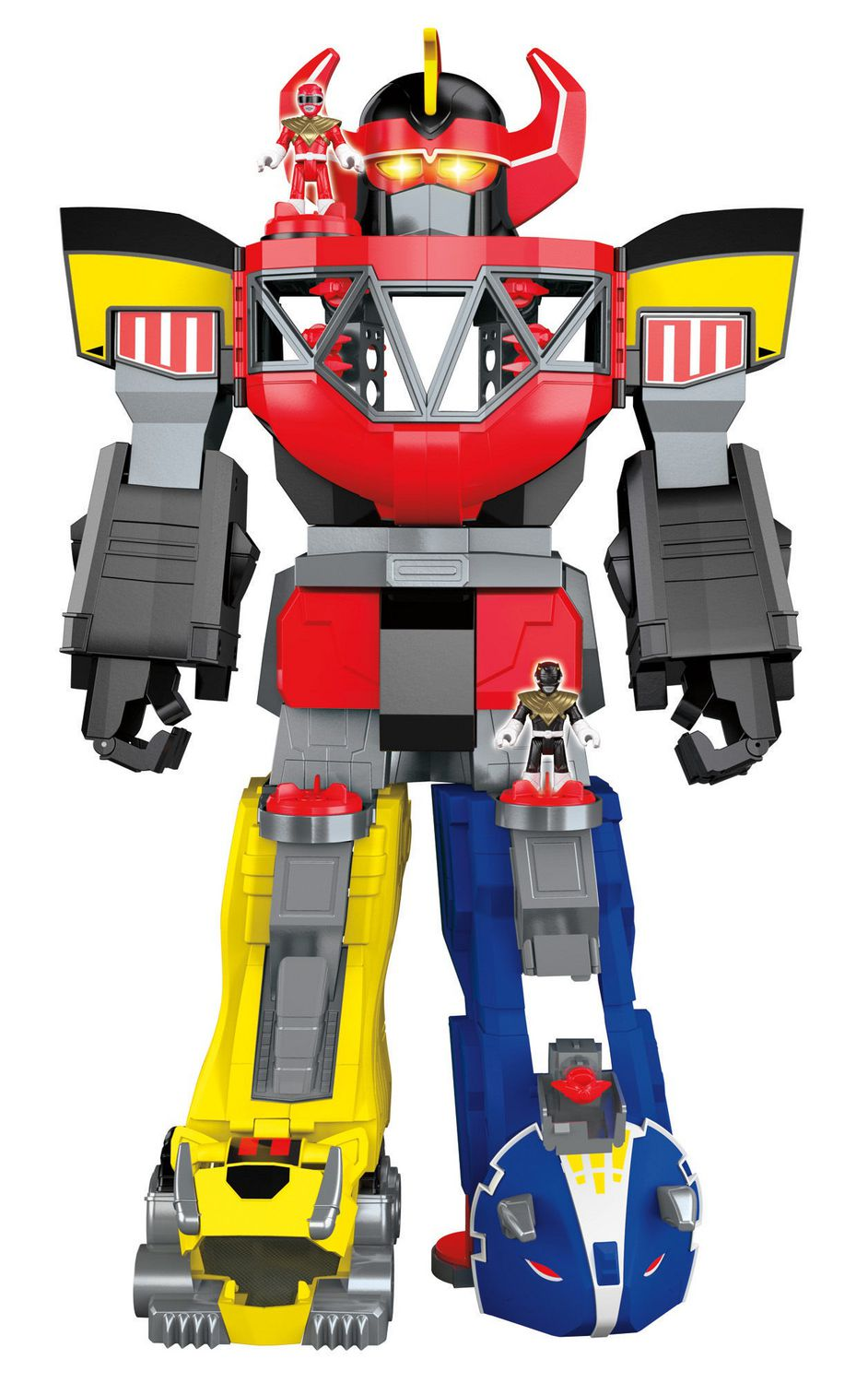 Uncategorized Robot From Power Rangers fisher price imaginext power rangers morphin megazord toy walmart canada