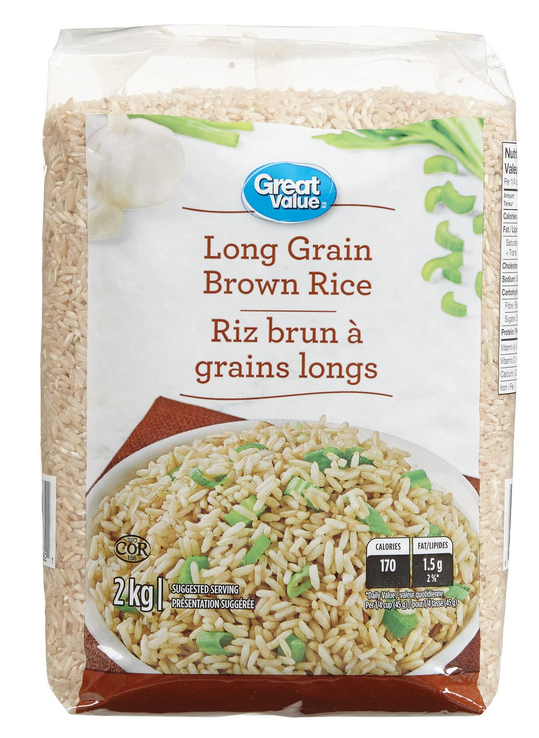 How many calories in cup of brown rice pasta