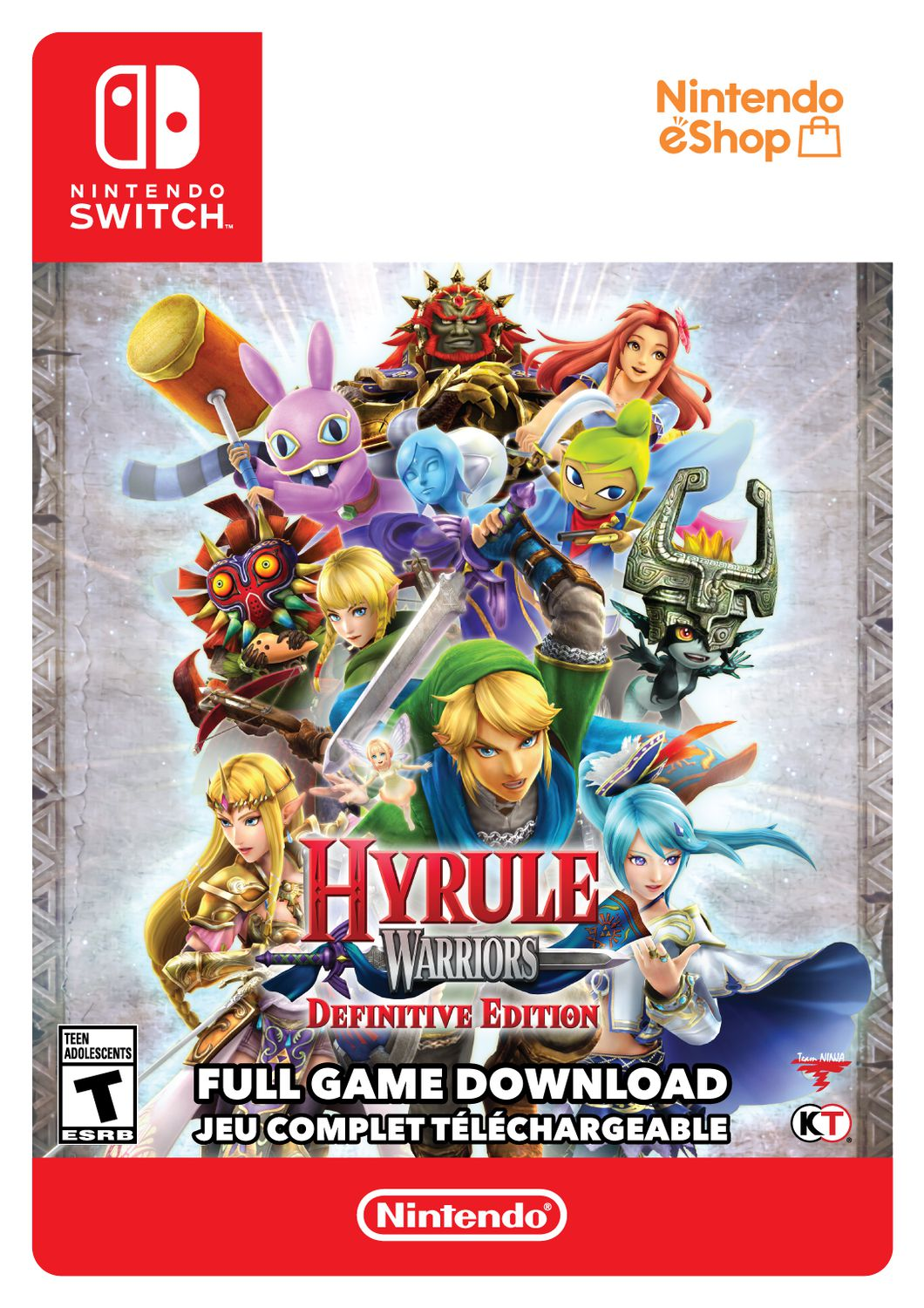 Switch Hyrule Warriors Definitive Edition Download Walmart Canada