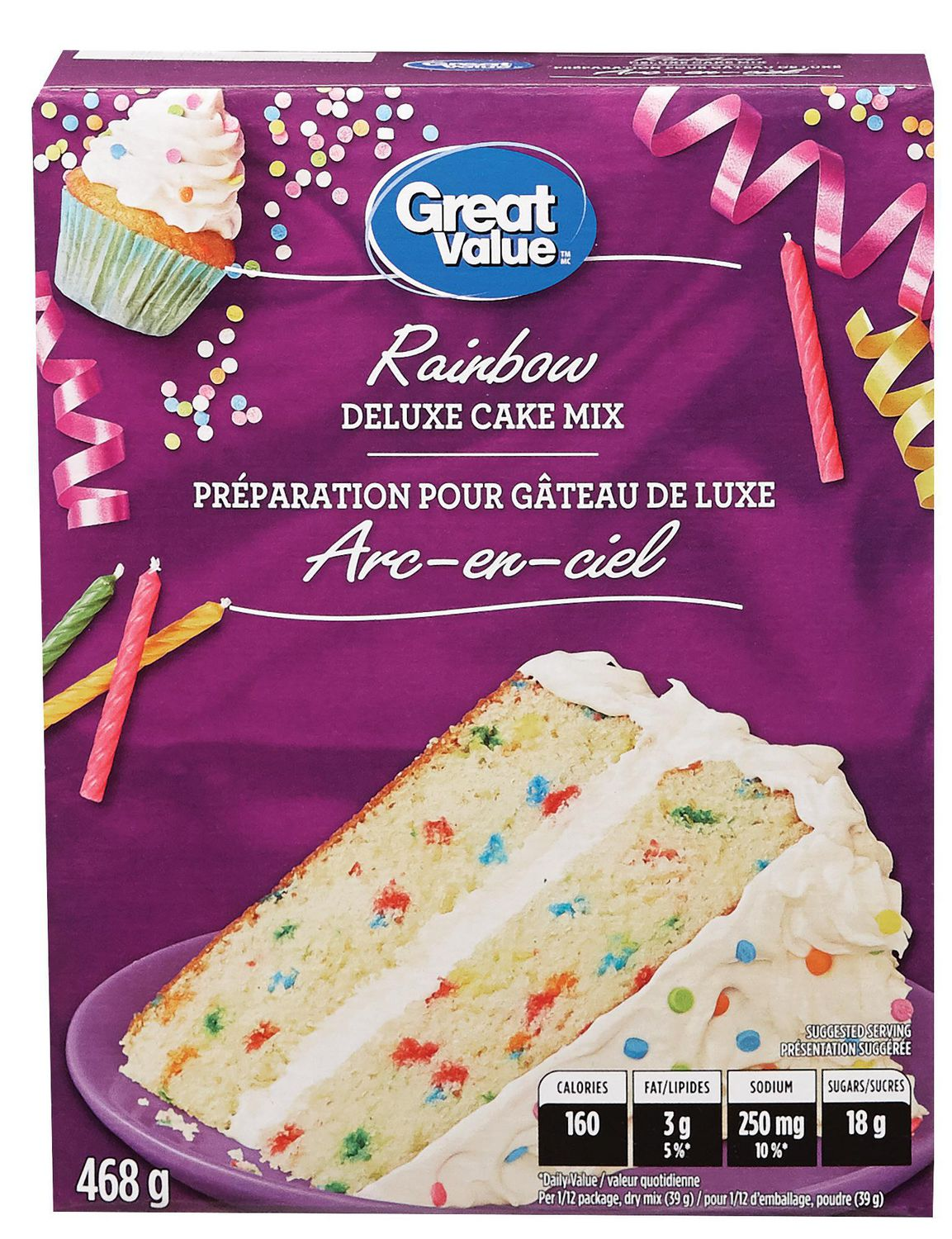 Marvelous Great Value Birthday Party Cake Mix Walmart Canada Birthday Cards Printable Opercafe Filternl