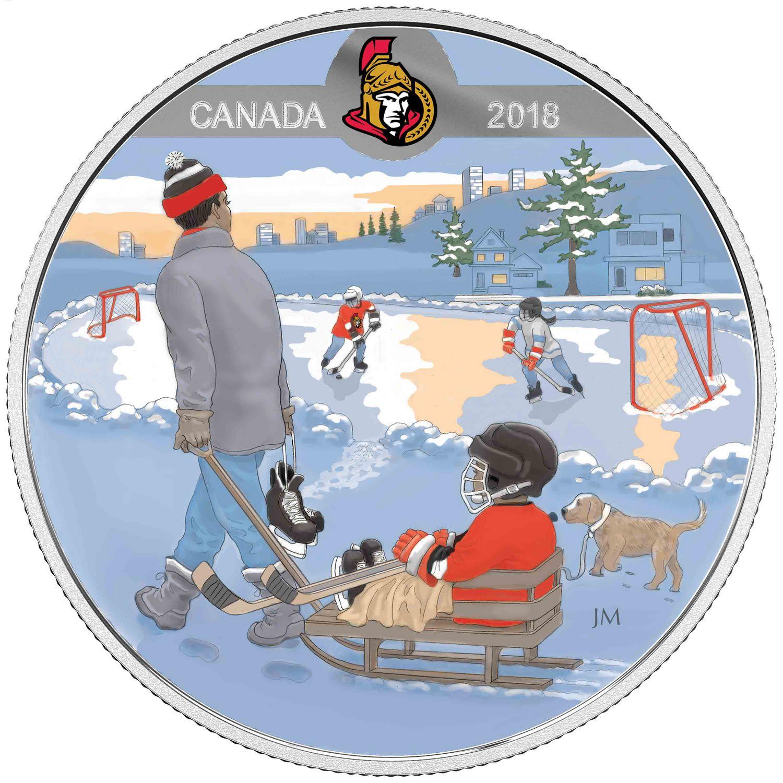 Royal Canadian Mint 2018 Learning to Play: Ottawa Senators Fine ...