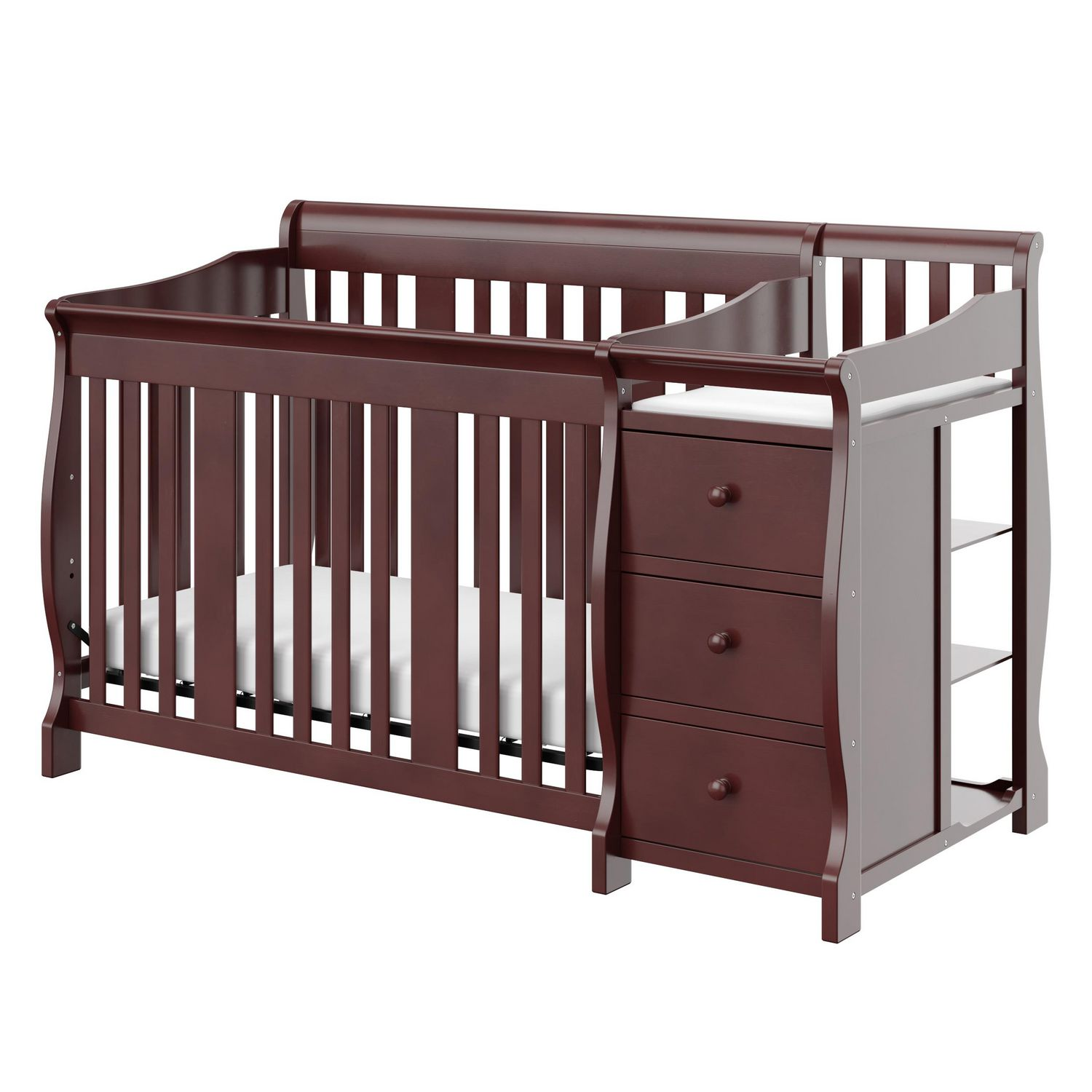 Crib for sale kelowna - Storkcraft Portofino 4 In 1 Convertible Crib And Changer
