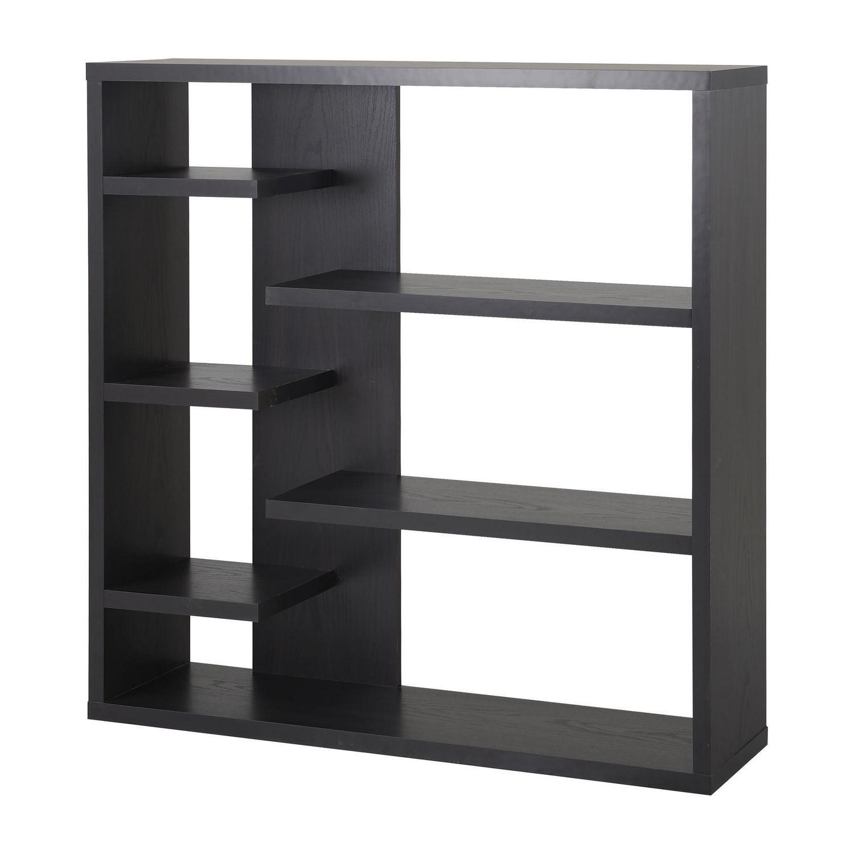 homestar  shelf storage bookcase in espresso  walmartca -