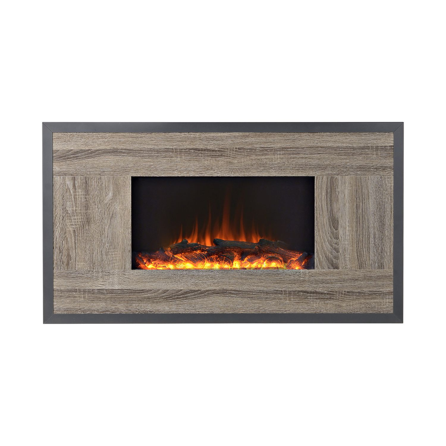 flamelux oland 41 inches wide wall mount electric firebox walmart electric fireplaces clearance - Electric Fireplaces Clearance