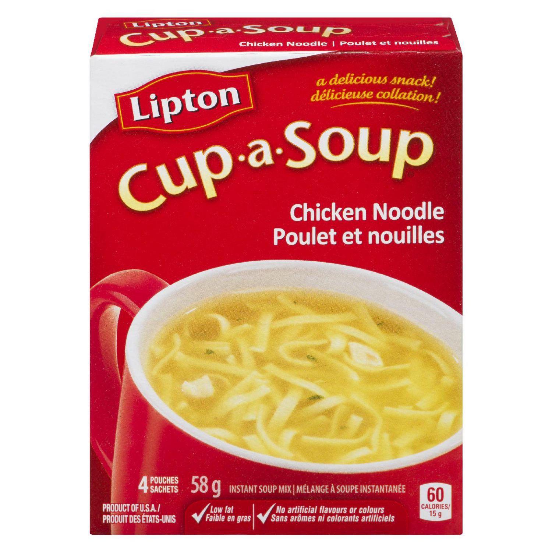 Lipton Cup-A-Soup Instant Soup Mix Chicken Noodle 58 GR